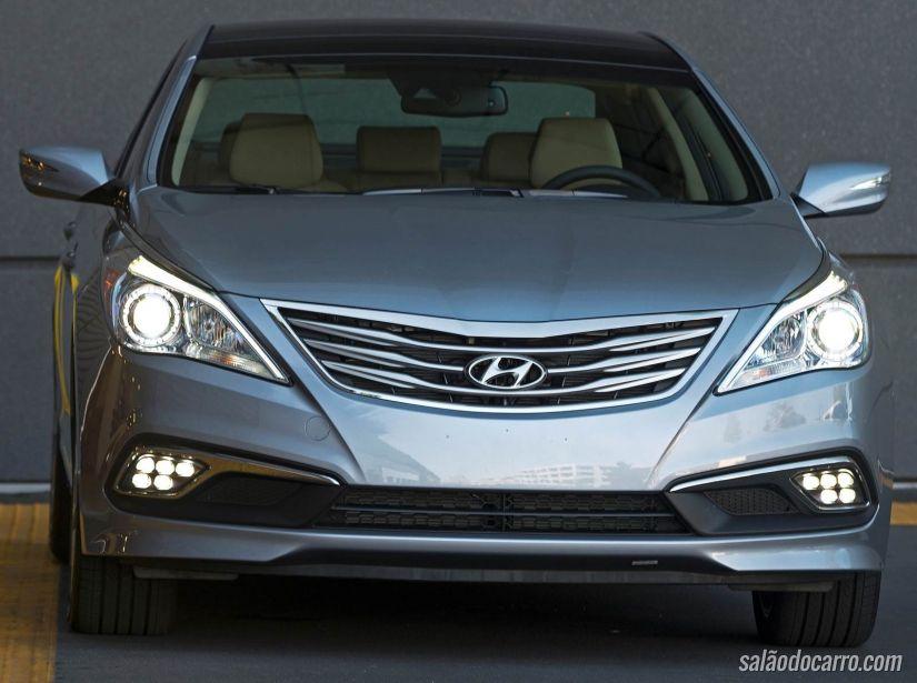 Hyundai apresenta Azera 2015 nos EUA
