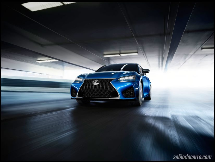 Lexus GS F 2015 será lançado em Detroit