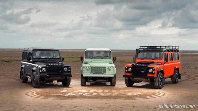 Land Rover anuncia Defender Special Edition