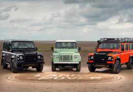 Land Rover anuncia Defender Special Edition