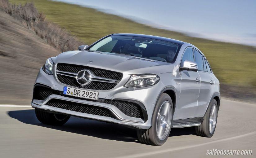 Confira o trailer de lançamento do novo Mercedes GLE 63 AMG