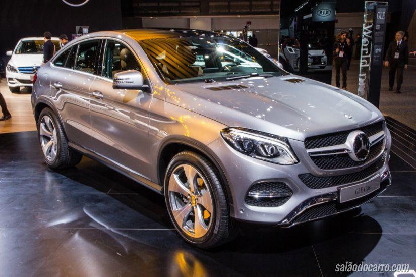 Mercedes GLE Coupé chega ao Brasil ainda em 2015
