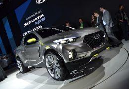 Hyundai Santa Cruz surpreende em Detroit