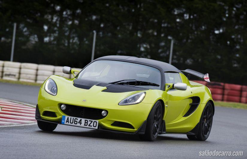 Lotus lança Elise S Cup por R$ 172 mil na Europa