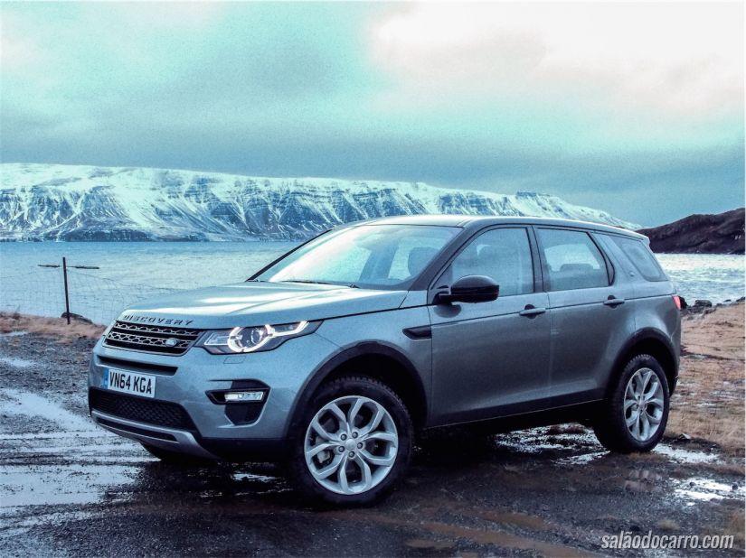 Land Rover Discovery Sport, direto da Islândia