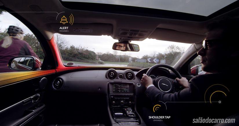 Vídeo mostra sistema de detecção de ciclistas desenvolvido pela Jaguar Land Rover