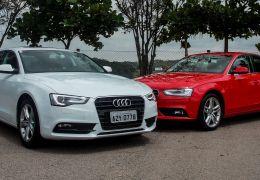 Teste do Audi A4 e Audi A5, com motor 1.8 turbo FSI
