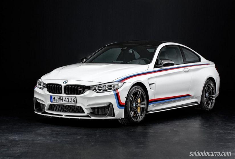 BMW revela M4 com mais equipamentos