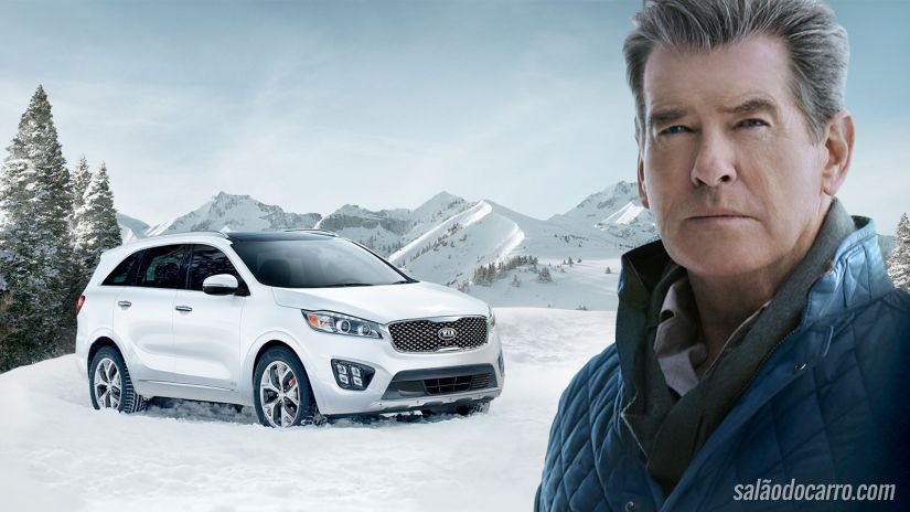 Comercial do New Kia Sorento apresenta 007 aposentado