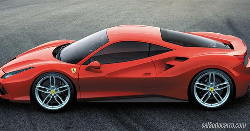 Ferrari apresenta nova 488 GTB