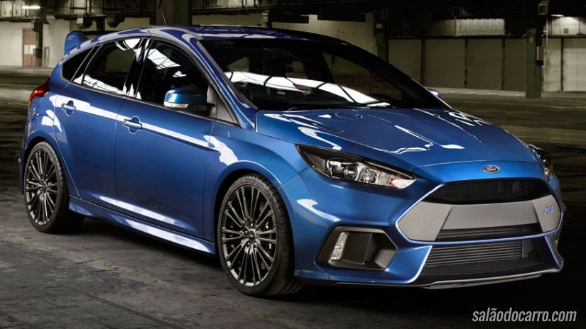 Ford Focus RS ganha motor potente e design furioso