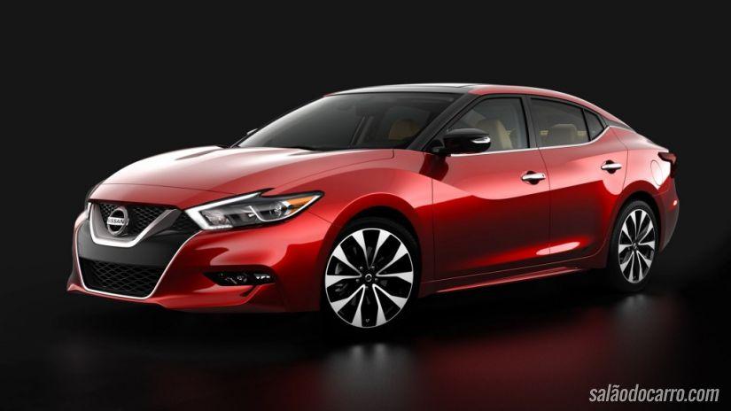 Nissan revela fotos oficiais do sedã Maxima