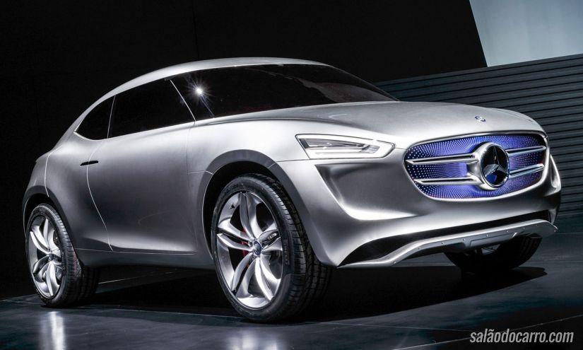 Mercedes-Benz inova com conceito de SUV movido a hidrogênio