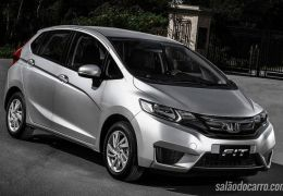 Honda convoca recall de 604 unidades do Fit
