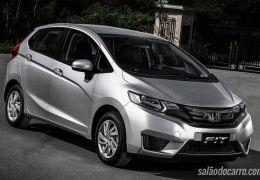 Honda convoca recall de 604 unidades do Fit