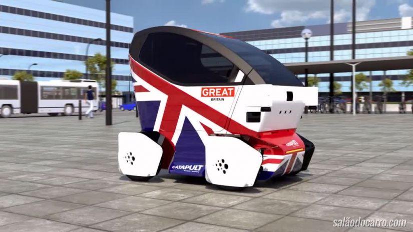 Conheça o primeiro carro autônomo britânico