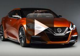 Confira imagens do novo Nissan Maxima