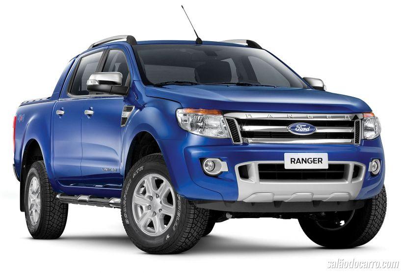 Ford anuncia recall de 8 mil Rangers no Brasil