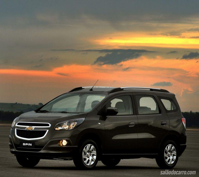 Chevrolet Spin sofre recall por falha no tanque