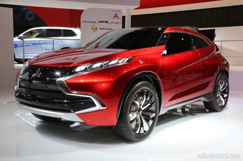 Mitsubishi revela conceito de SUV compacto