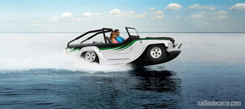 Confira vídeo do carro anfíbio de US$ 155 mil