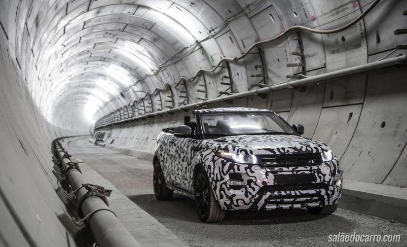 Land Rover apresenta Range Rover Evoque conversível em vídeo