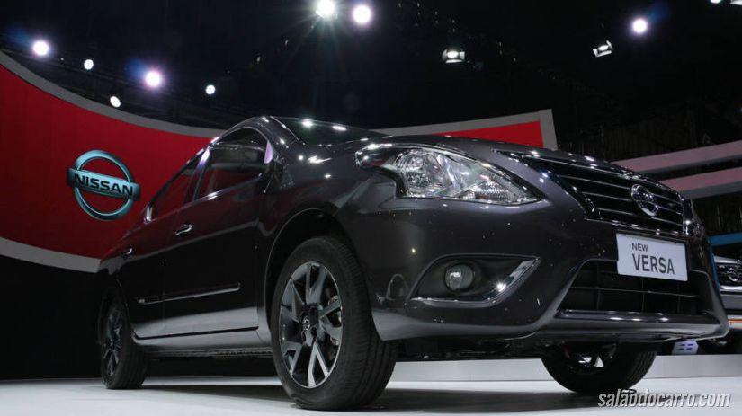 Nissan New Versa tem preços a partir de R$ 41.990