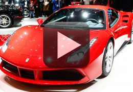 Ferrari lança vídeo inédito do modelo 488 GTB