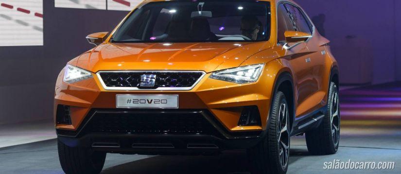 Seat 20V20 será o primeiro SUV da Seat