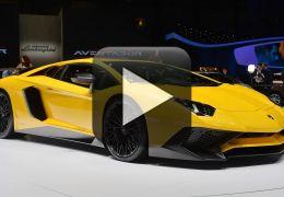 Confira a apresentação oficial do novo Lamborghini Aventador SuperVeloce