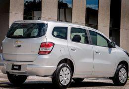 Chevrolet Spin 2016 chega com novidades