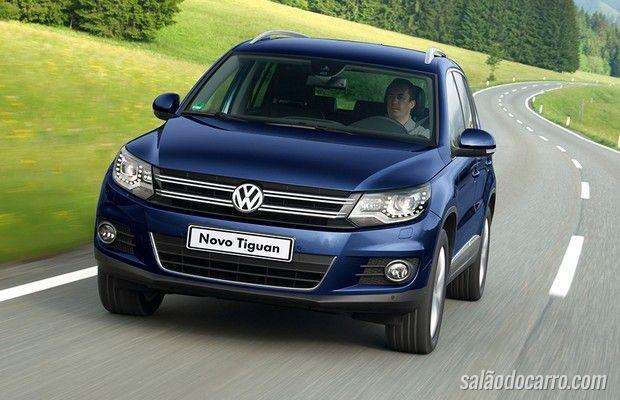 Nova geração do Tiguan virá com 7 lugares
