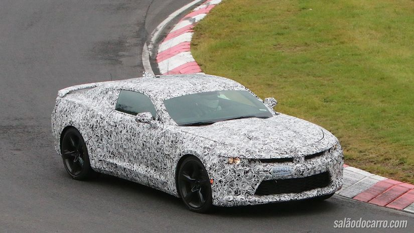 Chevrolet libera teaser do Camaro 2016