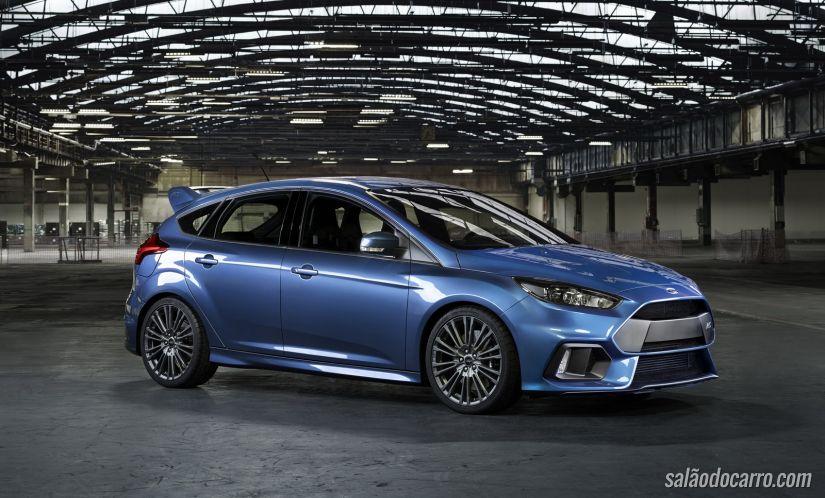 Confira o novo vídeo do Ford Focus RS