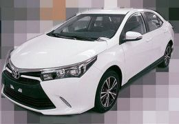 Vazam fotos do novo Toyota Corolla Altis