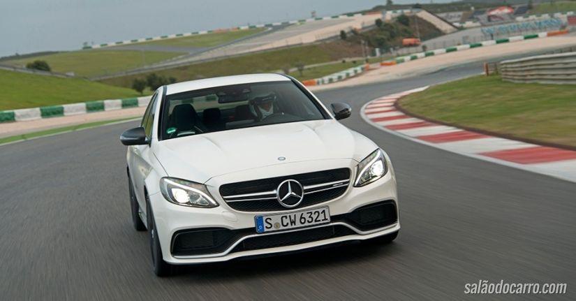 Mercedes-AMG C 63 S de 510 cavalos chega por mais de R$ 800 mil
