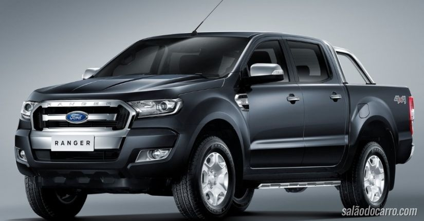 Ford Ranger 2016 mostra novo visual