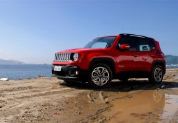 Teste do novo Jeep Renegade