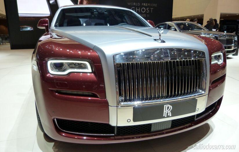 Rolls-Royce lança Ghost Series II no Brasil
