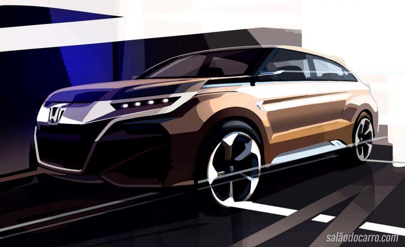 Honda revela novo conceito de SUV