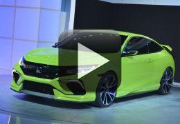 Honda apresenta Civic no Salão de NY