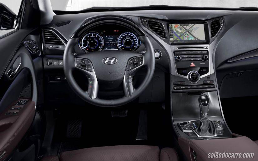 Hyundai capricha em seu New Azera