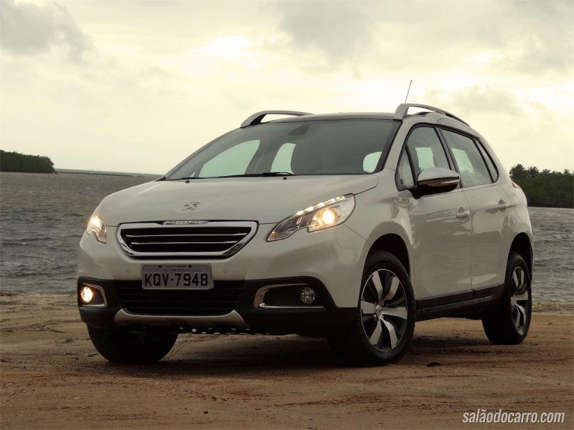 Teste de lançamento do Peugeot 2008