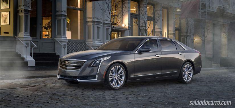 CT6 é o novo topo de linha da Cadillac