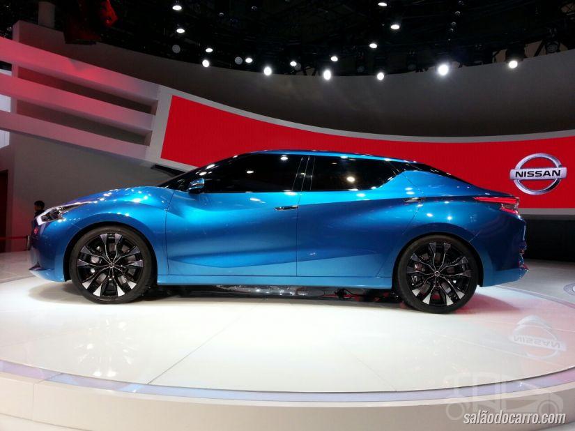 Nissan divulga teaser do novo Lannia