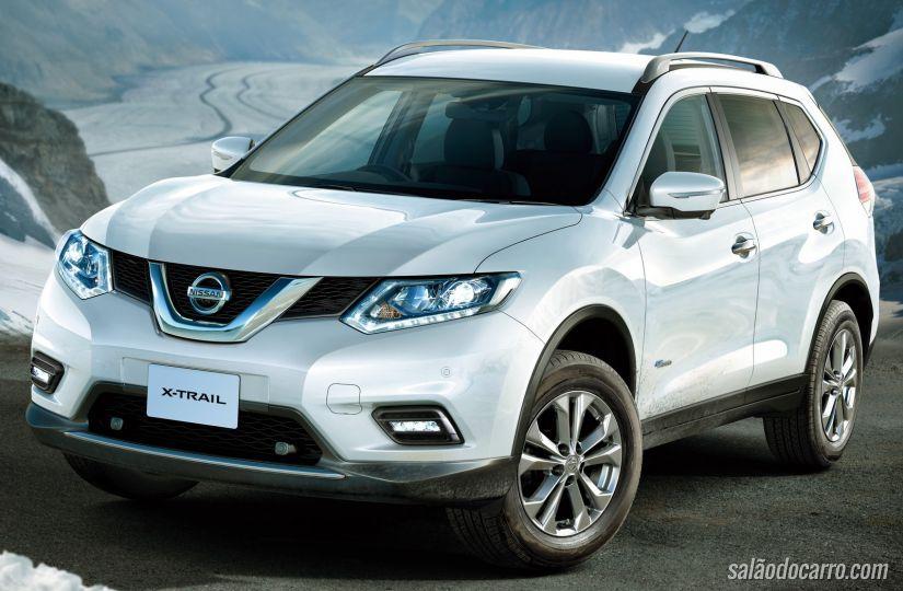 Nissan lança versão híbrida do utilitário X-Trail