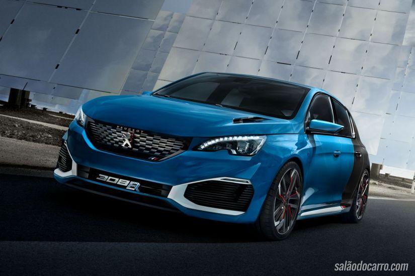 Peugeot divulga teaser do 308 R HYbrid