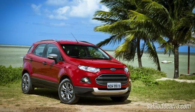 Ford EcoSport chega com motor Duratec 2.0 Flex