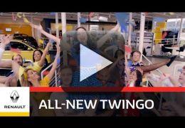 Renault lança campanha divertida para promover Twingo