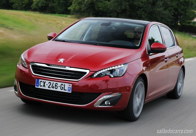 Peugeot 308 europeu chegará ao Brasil